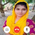 Girls Video Call - Random Video Chat Talk Girls icon
