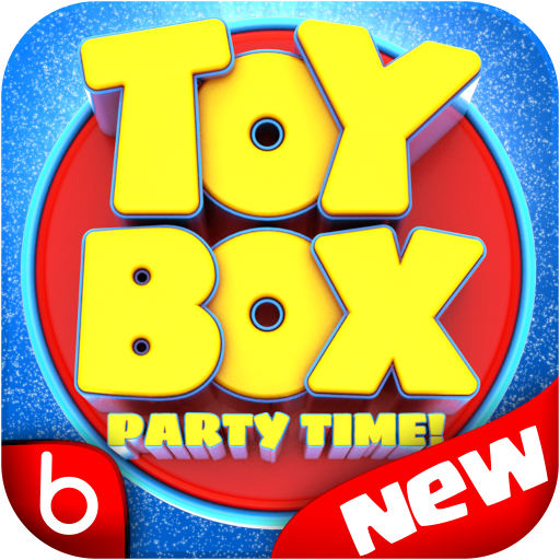 Toy Box Party Story Time - toys drop game!