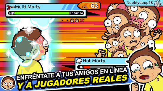 Pocket Mortys Screenshot