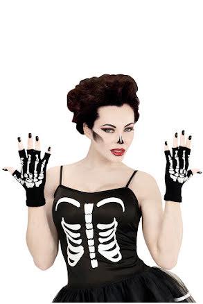 Skeletthandskar utan fingrar, vuxen