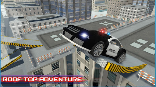 Police car roof stunts 3D for PC