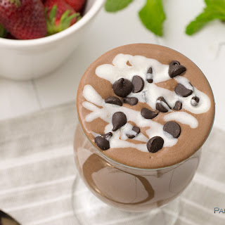 Mint Chocolate Chia Pudding