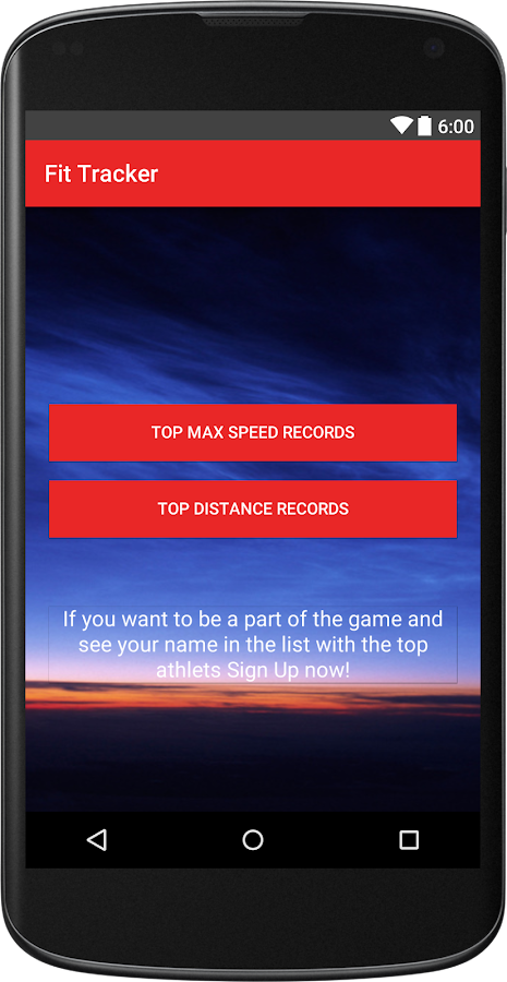 Fit Tracker - στιγμιότυπο οθόνης