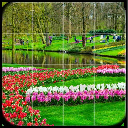 Tile Puzzle Keukenhof Garden