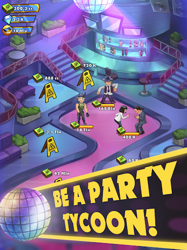 Party Clicker u2014 Idle Nightclub Game apkpoly screenshots 10
