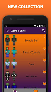 Zombie Skins For Minecraft PE Apps On Google Play - Skin para zumbi minecraft