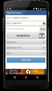 Indian Rail Enquiry- screenshot thumbnail