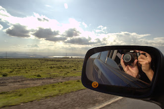 Photo: Driving in the Rift Valley