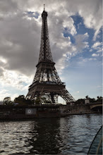 Photo: Eiffel Tower from the Seine