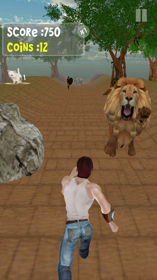 Jungle Run- screenshot