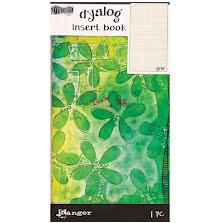 Dylusions Dyalog Insert Book - Grid #2