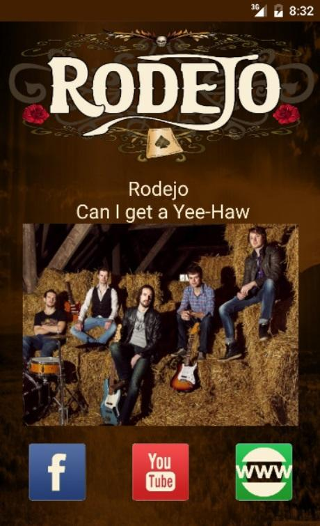 Rodejo Music App- screenshot