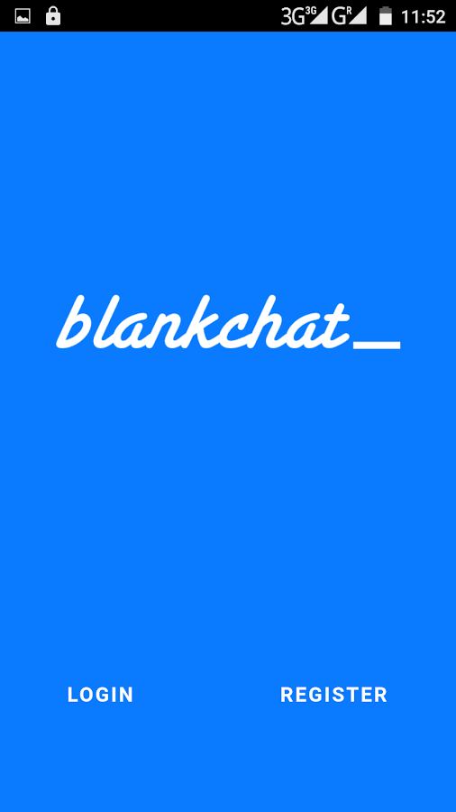 Blankchat- screenshot