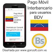App Pago Móvil para usuarios BDV ++ www.gonzoft.com.ve apk for kindle fire