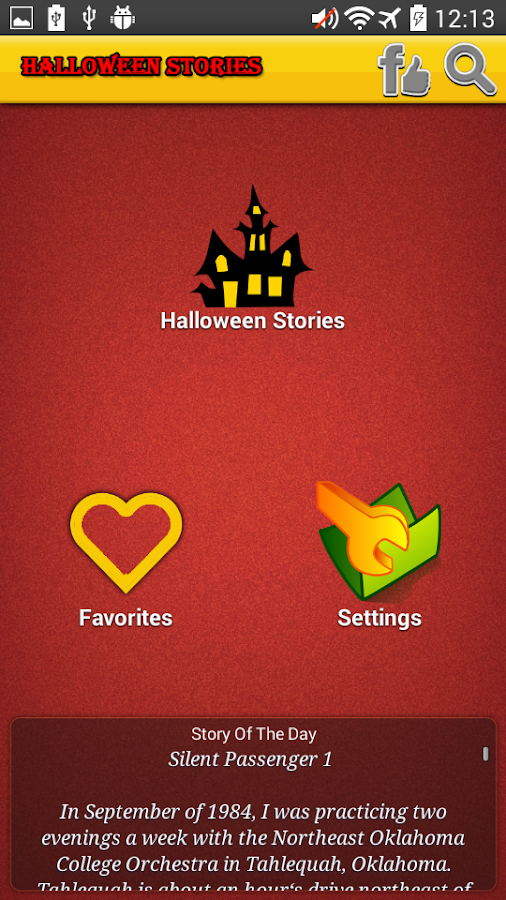 scary halloween stories android apps on google play scary halloween stories screenshot