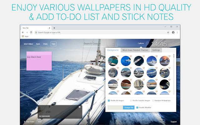 Yacht Wallpaper HD Yachts New Tab