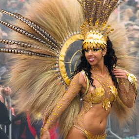Golden Carnival by Ricardo Marques - People Street & Candids