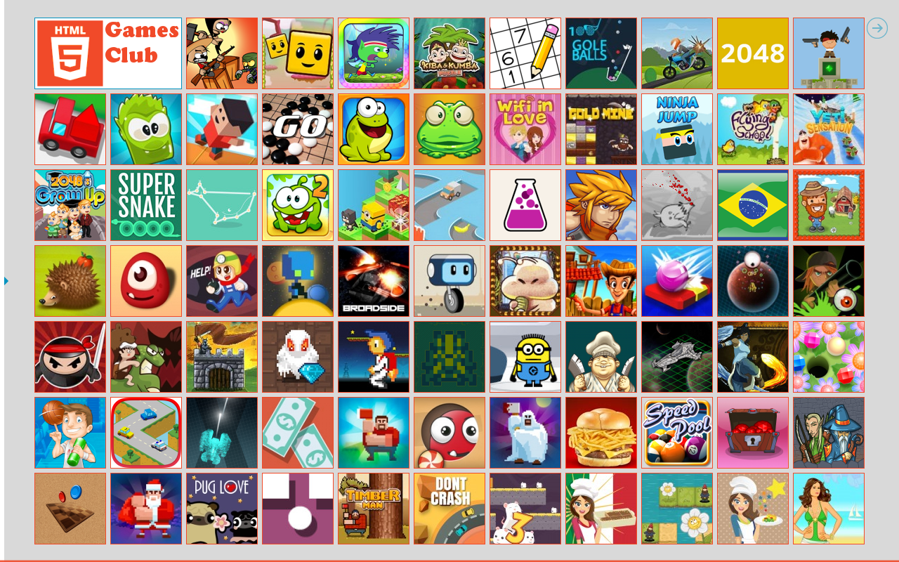 HTML5 Games 🌟 Club ⚡ HD 🎮- screenshot
