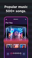 screenshot of Vinkle – Music Video Maker
