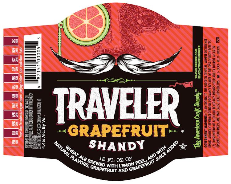 Logo of Traveler Grapefruit Shandy