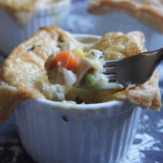Easy Individual Chicken Pot Pies