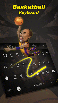 Free NBA Facemoji Keyboard - screenshot