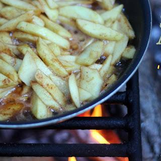 Campfire Skillet Apples.