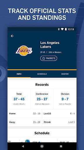 NBA: Live Games & Scores 10.0313 screenshots 7