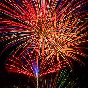 Boom! by Teri Garrison-Kinsman - Public Holidays July 4th ( fourth of july celebration, montana fireworks, fourth of july, fireworks display, fireworks celebration, fireworks, fourth of july fireworks )