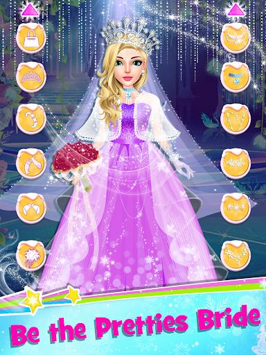 Ice Princess Wedding Dress Up Stylist screenshot 2