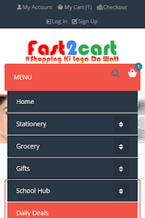 Fast2cart Online Supermarket- screenshot thumbnail