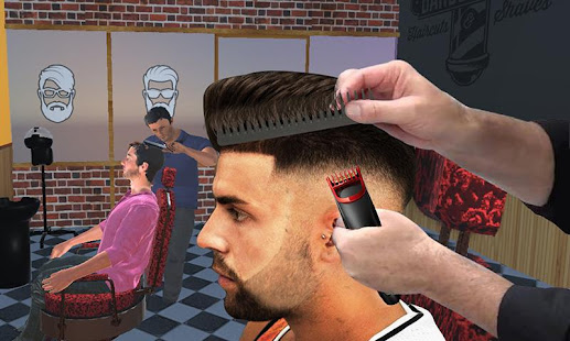 Barber Shop Hair Salon Cut Hair Cutting Games 3d Apps On Google Play