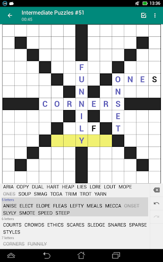 Fill-In Crosswords (Word Fit Puzzles) 2.05 screenshots 6