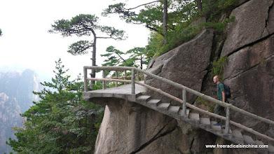 Photo: Mountain stairs