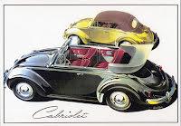 Typ 1 öppen och stängd Cabriolet