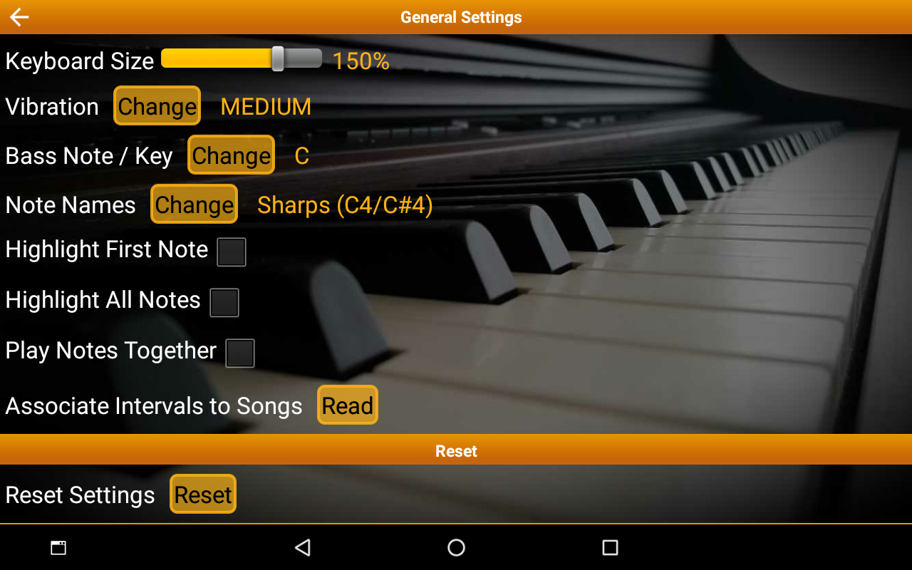Piano Interval Training - Ear Trainer- screenshot