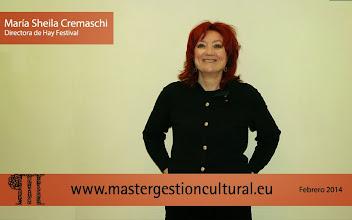 Photo: María Sheila Cremaschi Directora de Hay Festival of Literature & Arts de Segovia y Budapest
