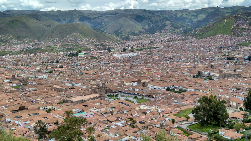 topview+cusco+peru