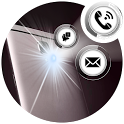 Flash Alerts on Call, SMS & Notifications icon