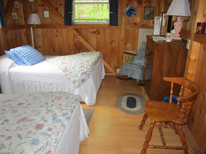 Photo: 2 double beds in 1st level bedroom
