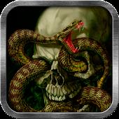 Snake Skull Live Wallpaper