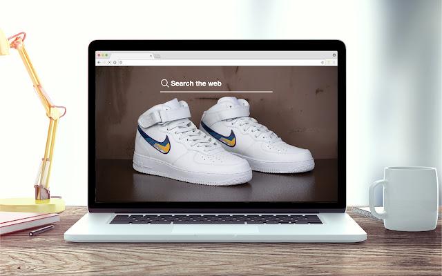Nike Air Force Ones Tab Shoe Theme