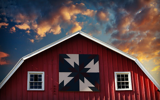 Barn with Quilt | Other Exteriors | Buildings & Architecture | Pixoto