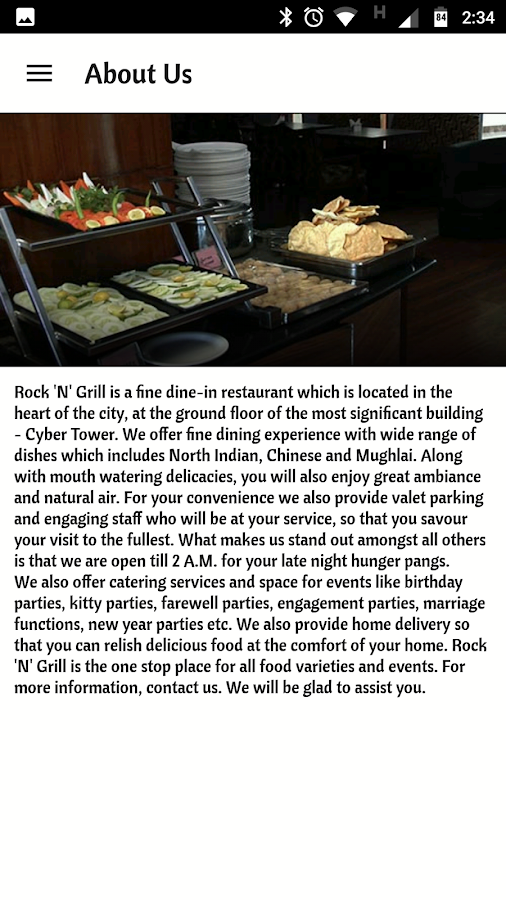 Rock n Grill Order Online- screenshot