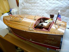 """Photo: 1 : 5  Rennboot """"chicki 4""""  Erich Deussen  Germany"""