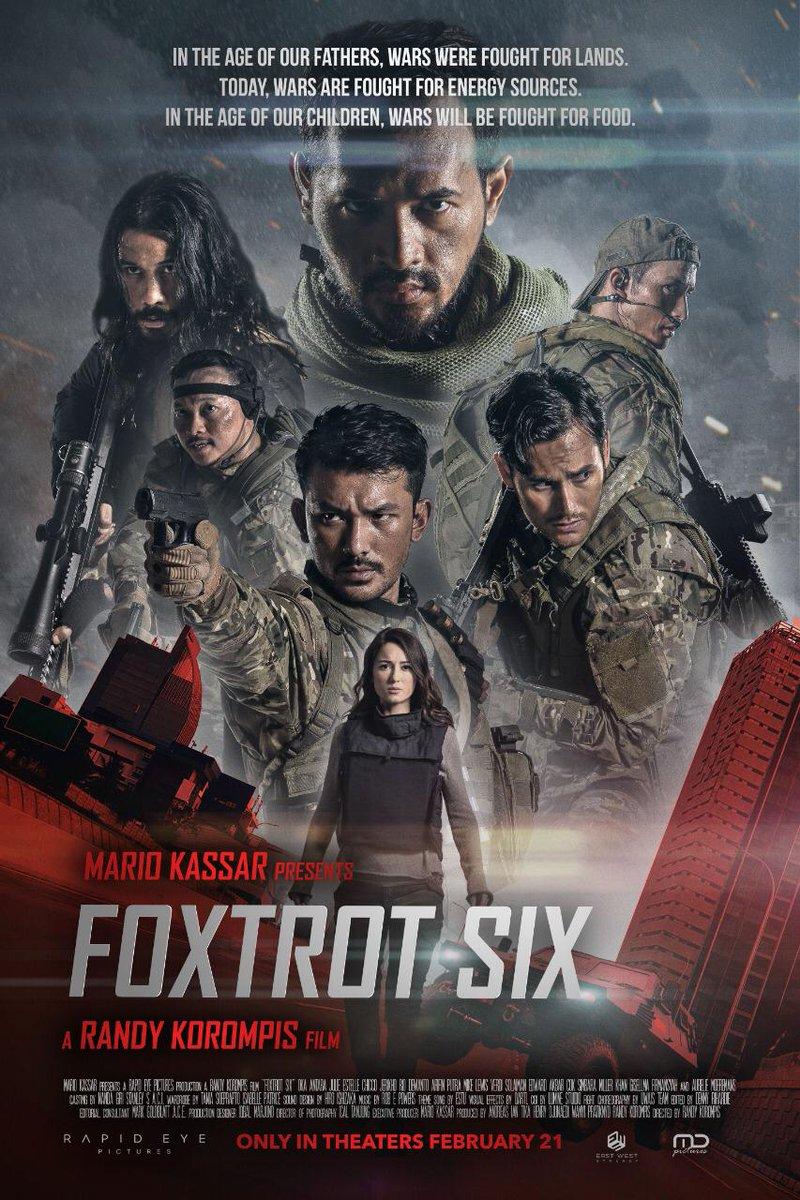 Telan Biaya Produksi Rp 70 Miliar, 'Foxtrot Six' Action Packed Banget!