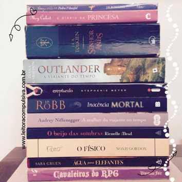 Desafio lendo e escrevendo leitora compulsiva livros favoritos