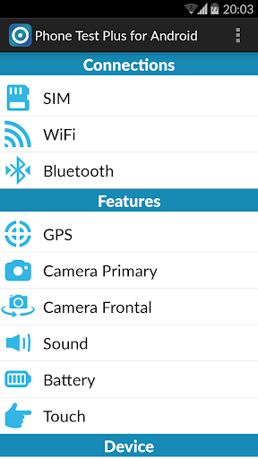 Phone Test Plus for Android v4.3.3