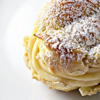 Italian Cream Puffs with Custard Filling (St. Joseph's Day Pastries).