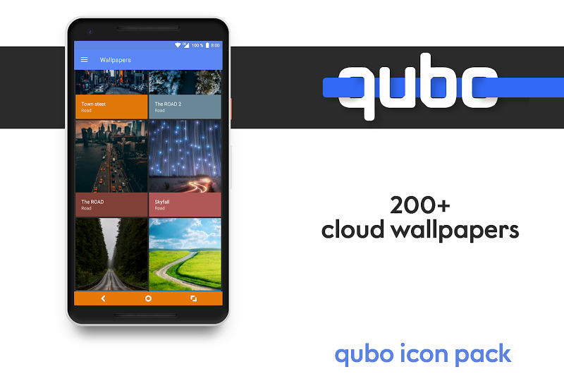 Qubo Icon Pack Screenshot 3
